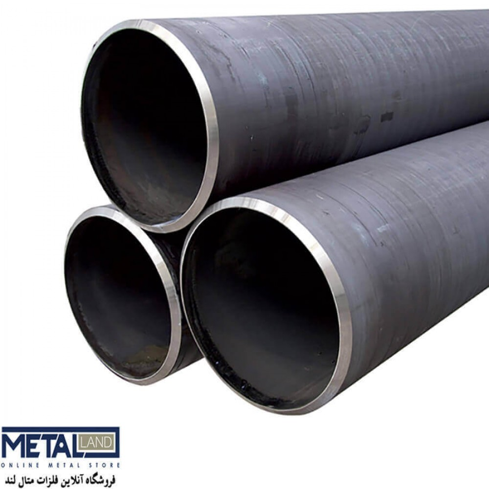 لوله آهنی بدون درز - ضخامت 1.65 mm قطر 25 mm طول شاخه 6000 mm