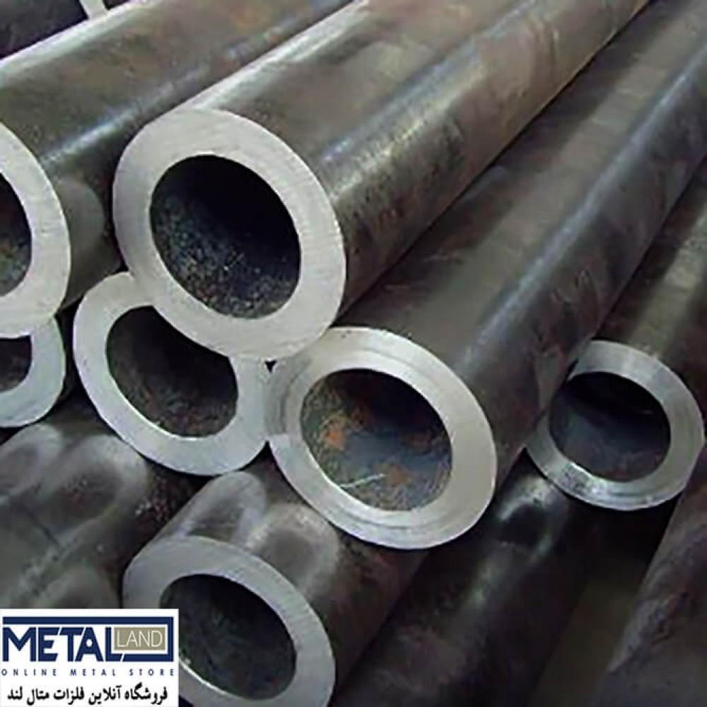 لوله آهنی گوشت دار بدون درز-ضخامت 50 mmقطر 203 mmطول شاخه 6000 mm