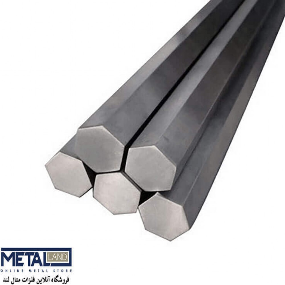 شش پر فولادی CK45 ترانس - سایز 15 mm طول 3000 mm