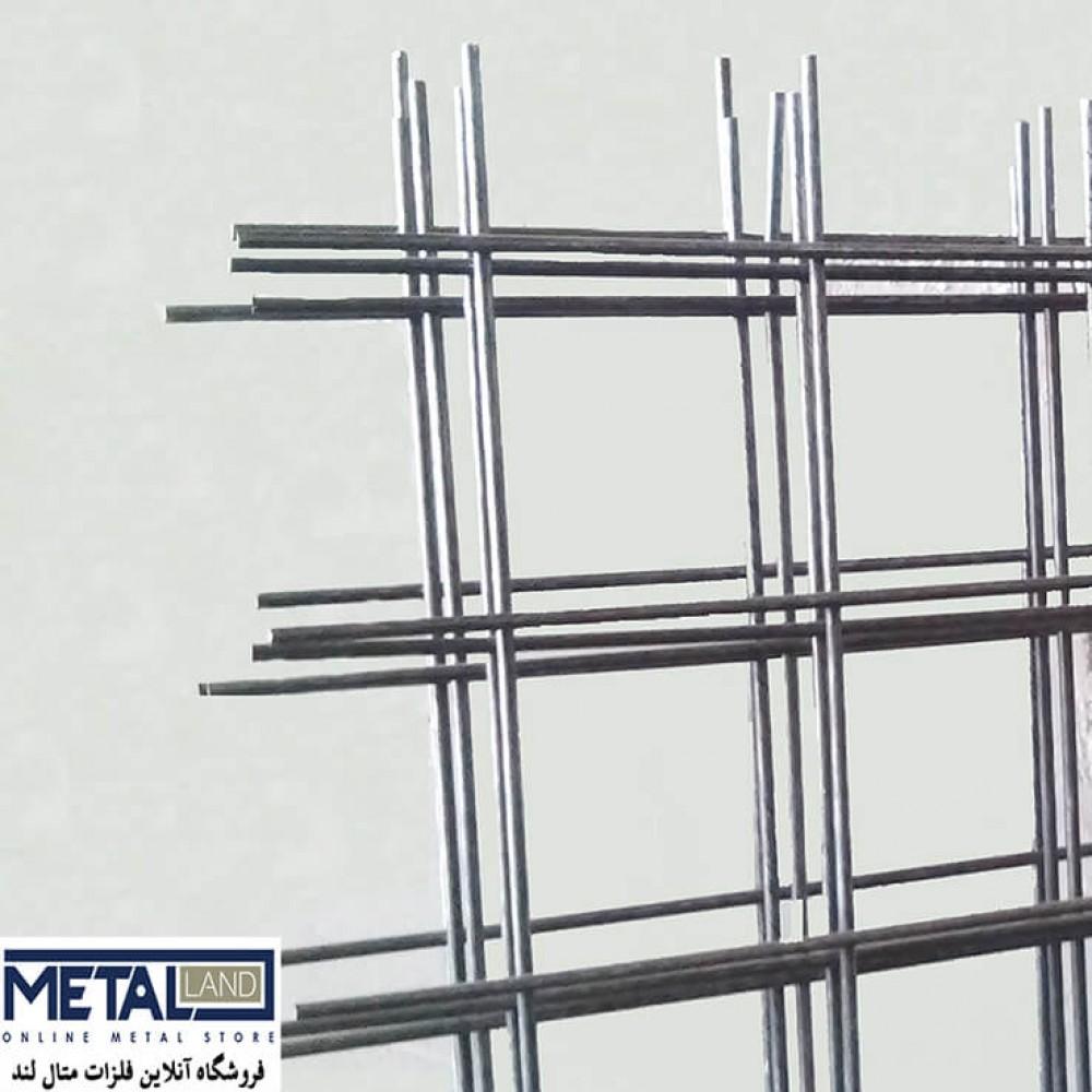 توری مش گالوانیزه - ابعاد 1000*1000 mm چشمه 1 mm ضخامت 0.18 mm